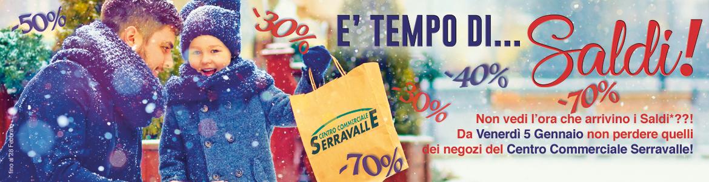 huge discount 341af 22197 E' TEMPO DI... SALDI! - Centro Commerciale Serravalle